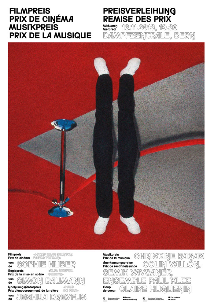 Preisverleihung Film- und Musikpreis des Kantons Bern
