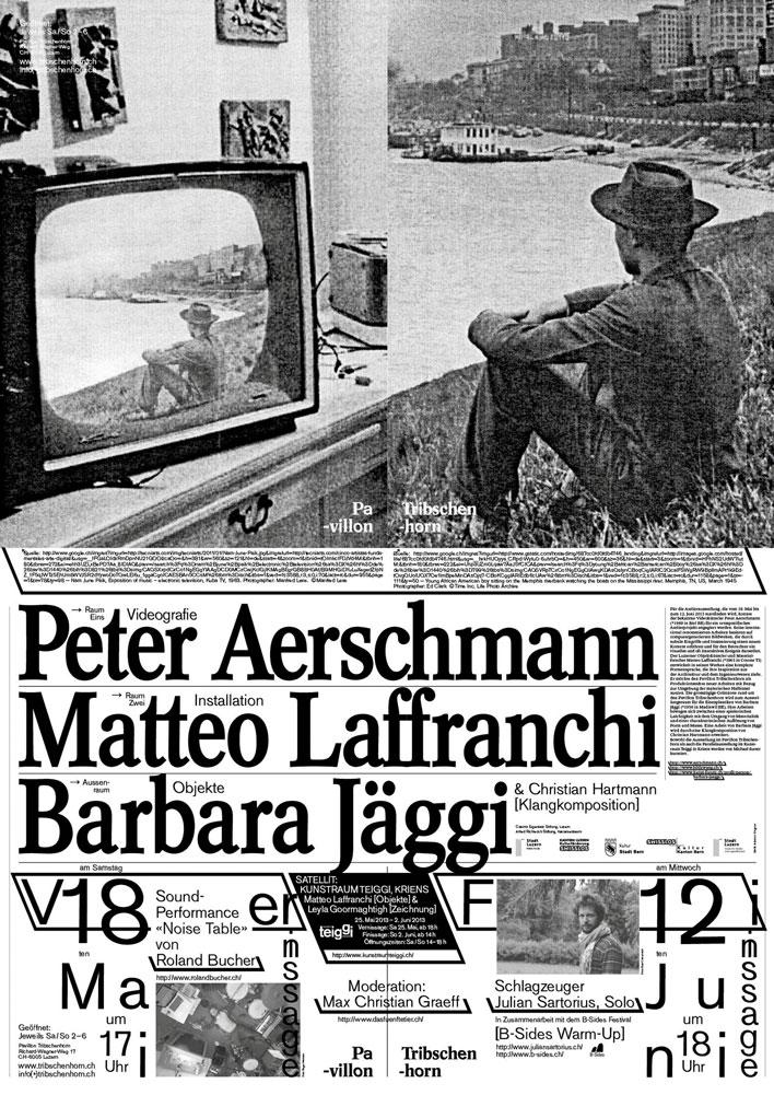 Atelierausstellung von Peter Aerschmann, Matteo Laffranchi und Barbara Jäggi