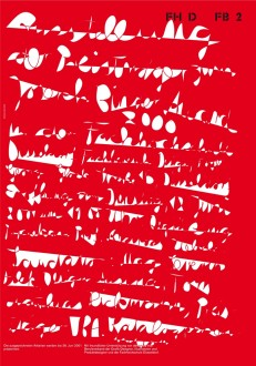 Ausstellungsplakat - Joseph Binder Award 2000