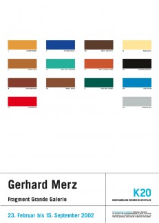 Gerhard Merz - Fragment Grande Galerie