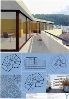 Straßen- und Ausstellungsplakate: Stand der Dinge: Neustes Wohnen in Zürich - Serie von sechs Plakaten