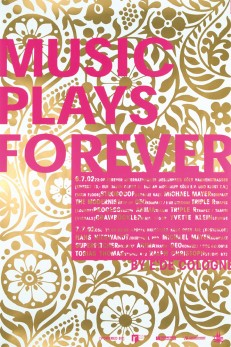 MUSIC PLAYS FOREVER