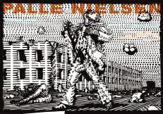 Ausstellungsplakat zu Palle Nielsen