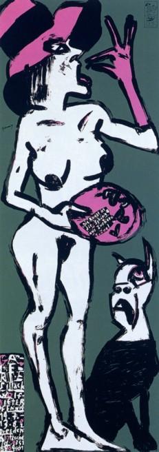 Ausstellung Wolf-Dieter Pfennig in der Galerie Sillack Dresden