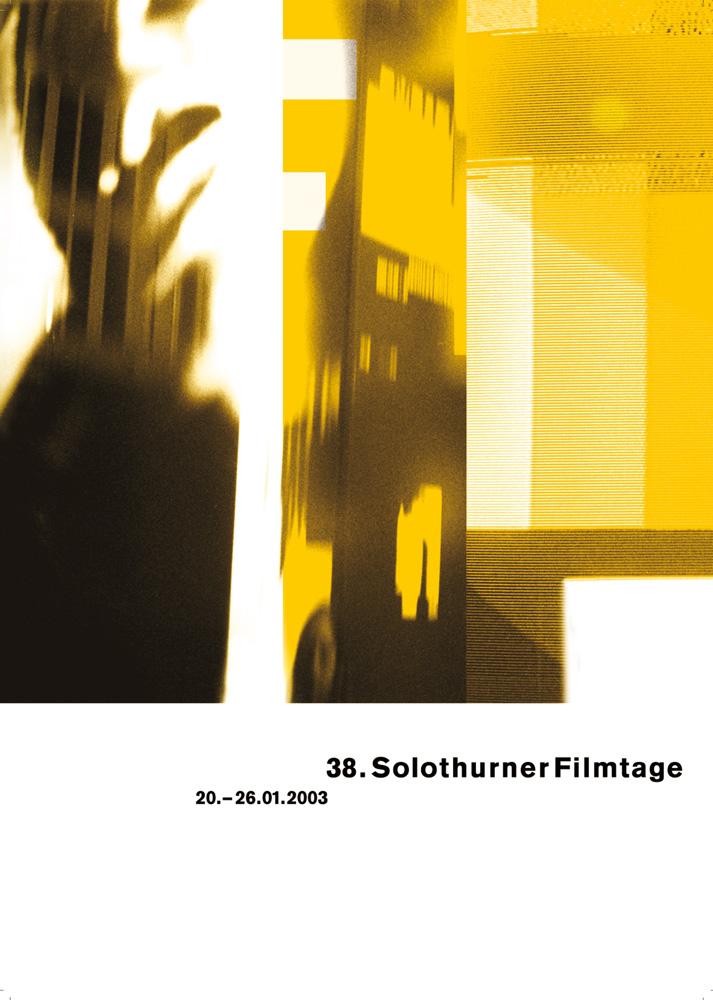 38. Solothurner Filmtage 2003 - Serie von zwei Plakaten