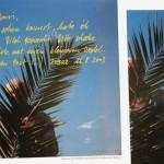 Lieber Yarsi... - Lieber Carlos... - Serie von zwei Plakaten
