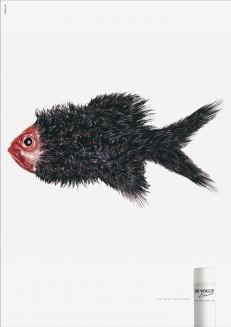 aus einer Serie für En Vogue: Fisch
