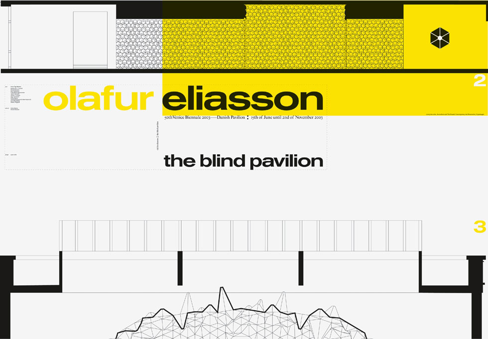 olafur eliasson - the blind pavillon