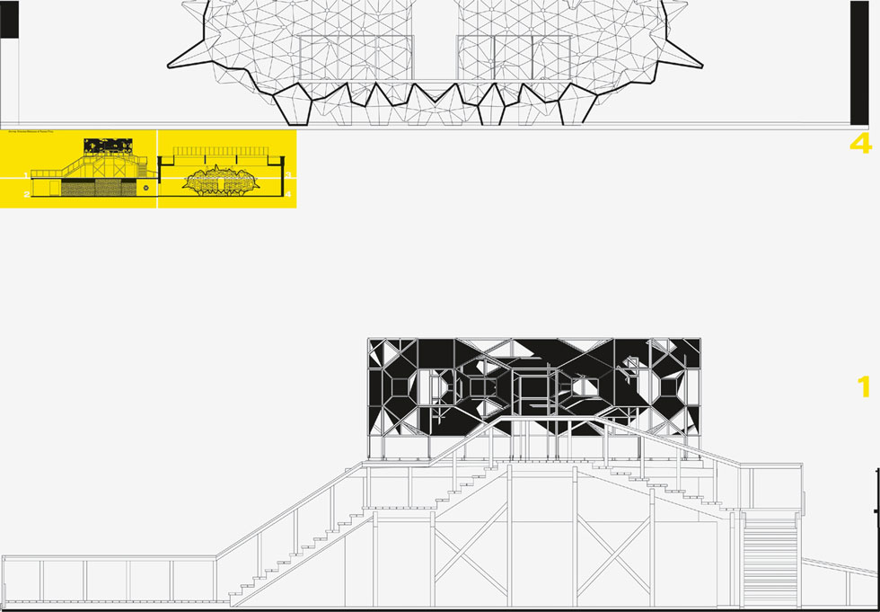 olafur eliasson - the blind pavillon