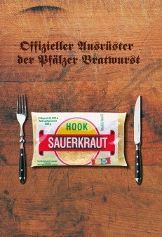 HOOK Sauerkraut - Offizieller Ausrüster der Pfälzer Bratwurst