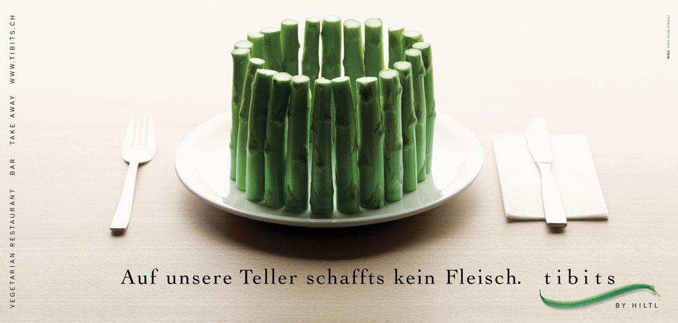 Tibits – Tellerverteidigung – Auf unsere Teller schaffts kein Fleisch
