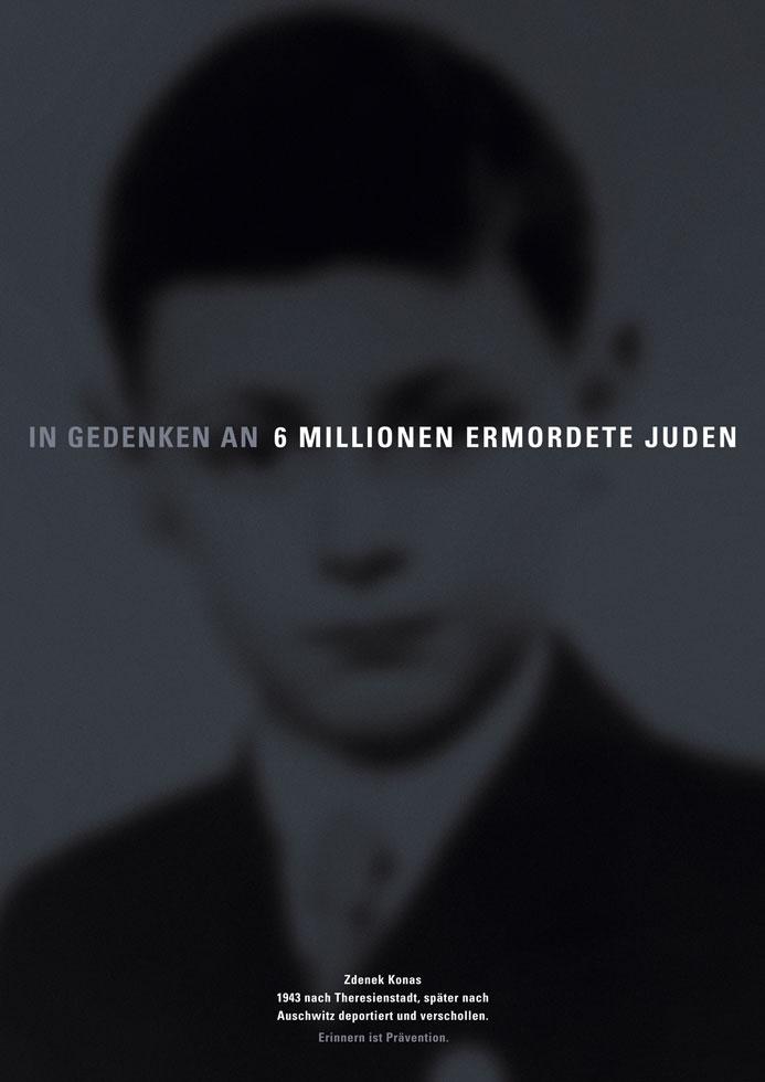 Erinnern ist Prävention: Zdenek Konas/ Etty Hillesum / Schimon Mendel
