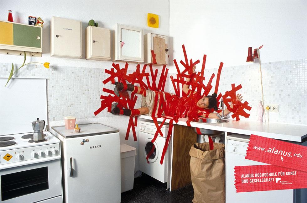 Kunst klebt – Schlafzimmer / Küche | 100 Beste Plakate e. V.