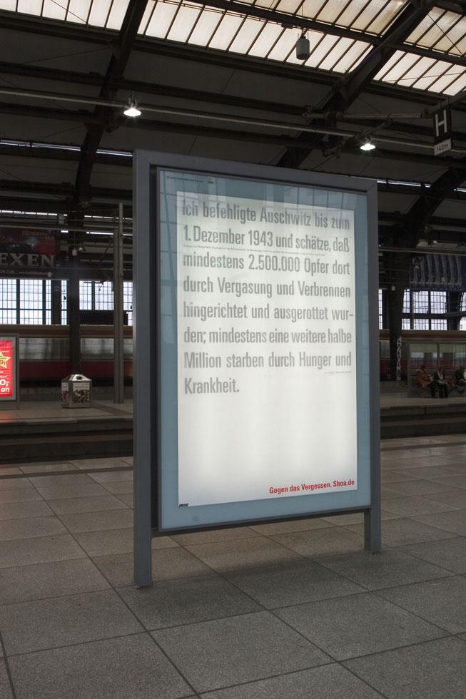 Gegen das Vergessen - Petersburg / Auschwitz / Euthanasie / Bücherverbrennung / Gaskammer