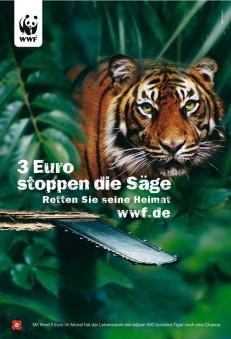 3 Euro stoppen die Säge