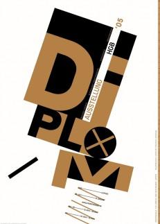 Diplomausstellung HGB Leipzig 2005