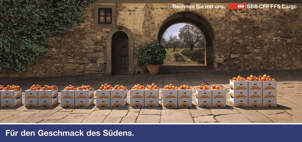 Orangen / Wasser / Weizen