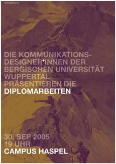Diplomarbeiten 2005