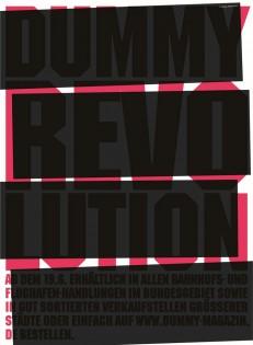 DUMMY Gesellschaftsmagazin - Thema Revolution
