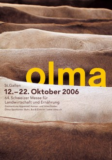 Olma – 64. Schweizer Messe für Landwirtschaft und Ernährung