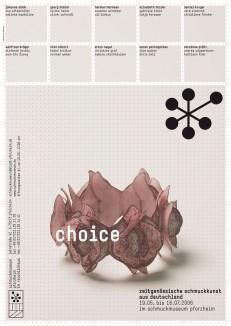 Choice – Zeitgenössische Schmuckkunst aus Deutschland