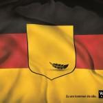 Deutschlandflagge / Lufthansa / Pelikan