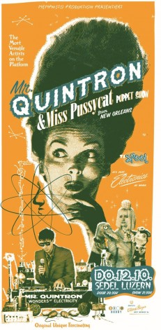 Mr. Quintron & Miss Pussycat