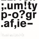22. bundestreffen forum typografie/walbaum tanzt grotesk
