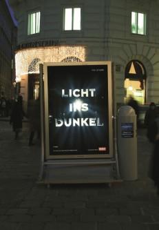 Licht ins Dunkel – Spendenbox