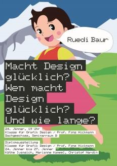 Macht Design glücklich? Vortrag Ruedi Baur