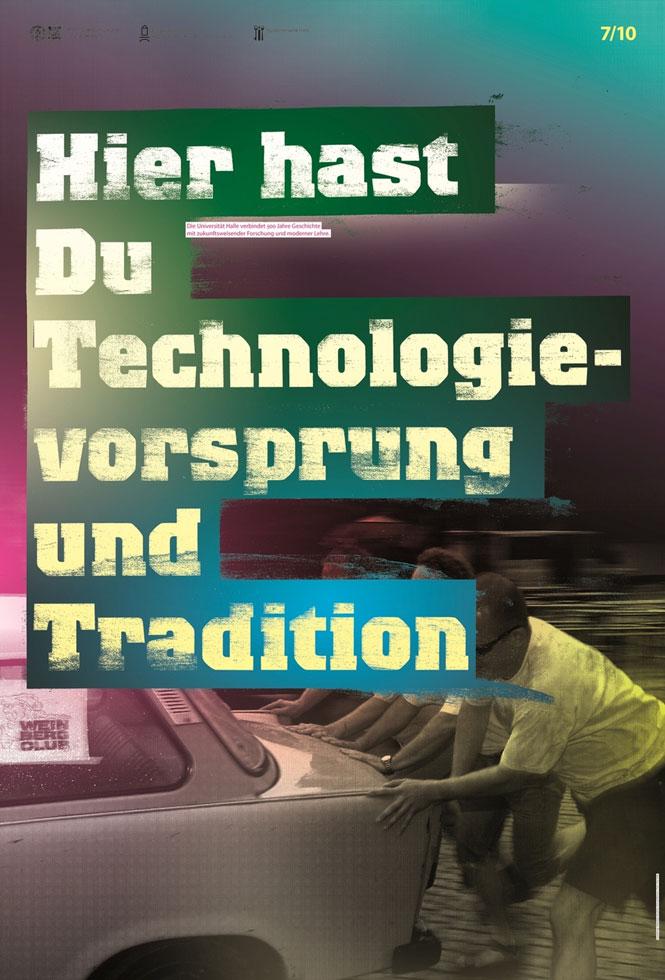 Technologievorsprung und Tradition