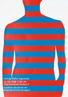 Vortrag Stefan Sagmeister