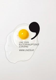 Linz 2009 – Das Gelbe vom Ei