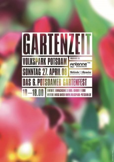 aus der dreiteiligen Plakatserie »Volkspark Potsdam 2008«