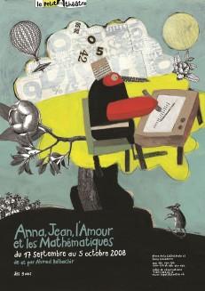 aus der fünfteiligen Plakatserie »Le petit théâtre«