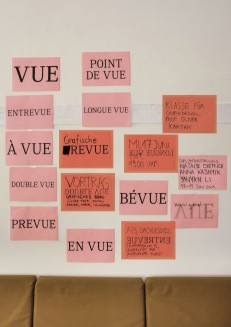 Vortrag Grafisches Büro: Grafische Revue