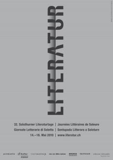32. Solothurner Literaturtage 2010