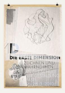 1D – Die erste Dimension. Zeichnen und Wahrnehmen an der Schule für Gestaltung Basel