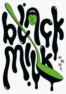 Eating Black Milk
