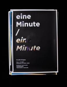 »eine Minute / eine Minute«