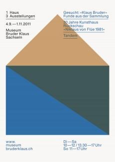 1 Haus – 3 Ausstellungen