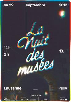 Nuit des musées de Lausanne et Pully 2012