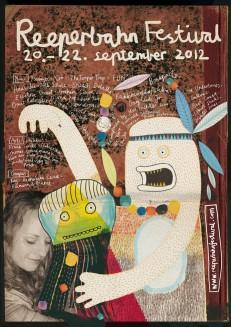 Reeperbahn Festival Kunstplakate
