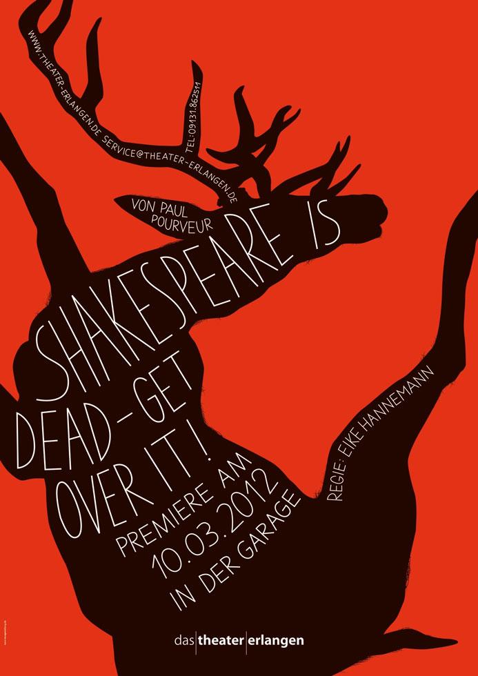 Shakespeare is dead ? Get over it!