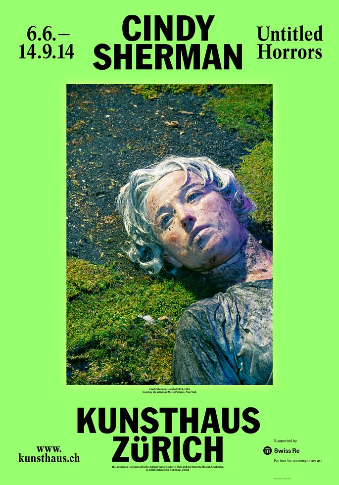 Cindy Sherman: Untitled Horrors, Kunsthaus Zürich