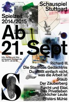 Schauspiel Stuttgart, Spielzeit 2014/2015
