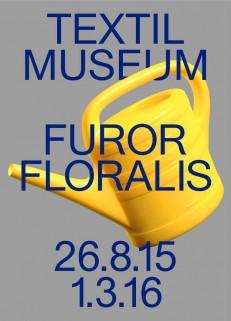 Furor Floralis, Textilmuseum St.Gallen