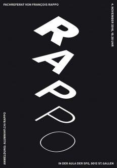 Rappo – Schrift, Raum und Klang