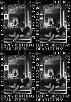 Happy Birthday Dear Leupin!
