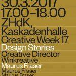Maurus Fraser: Design Stories